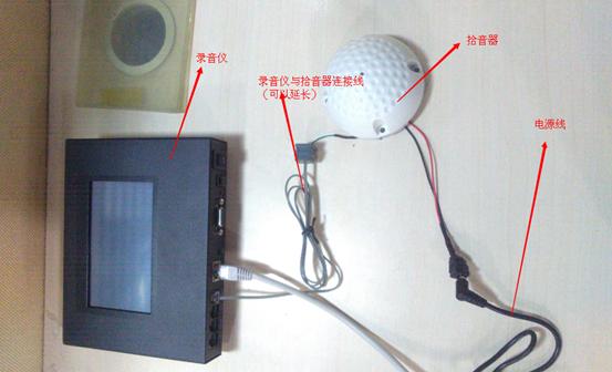 会议录音系统模拟图
